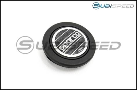 Sparco L360 Black Leather Steering Wheel - Universal