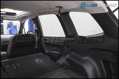 Subaru JDM tS Black D Pillars - 2014+ Forester