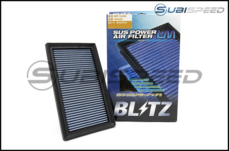 Blitz SUS Filter LM Drop In Air Filter (Manual Transmission Only)