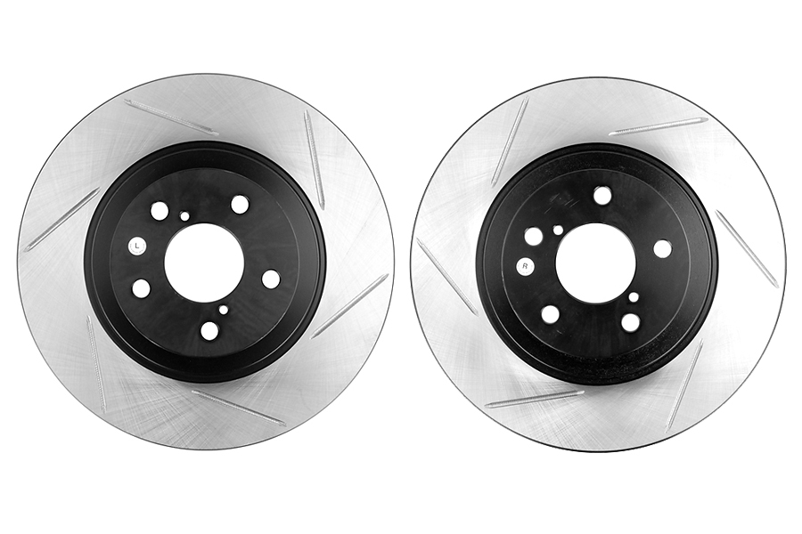 Stoptech Sport Kit Slotted Rotors Front