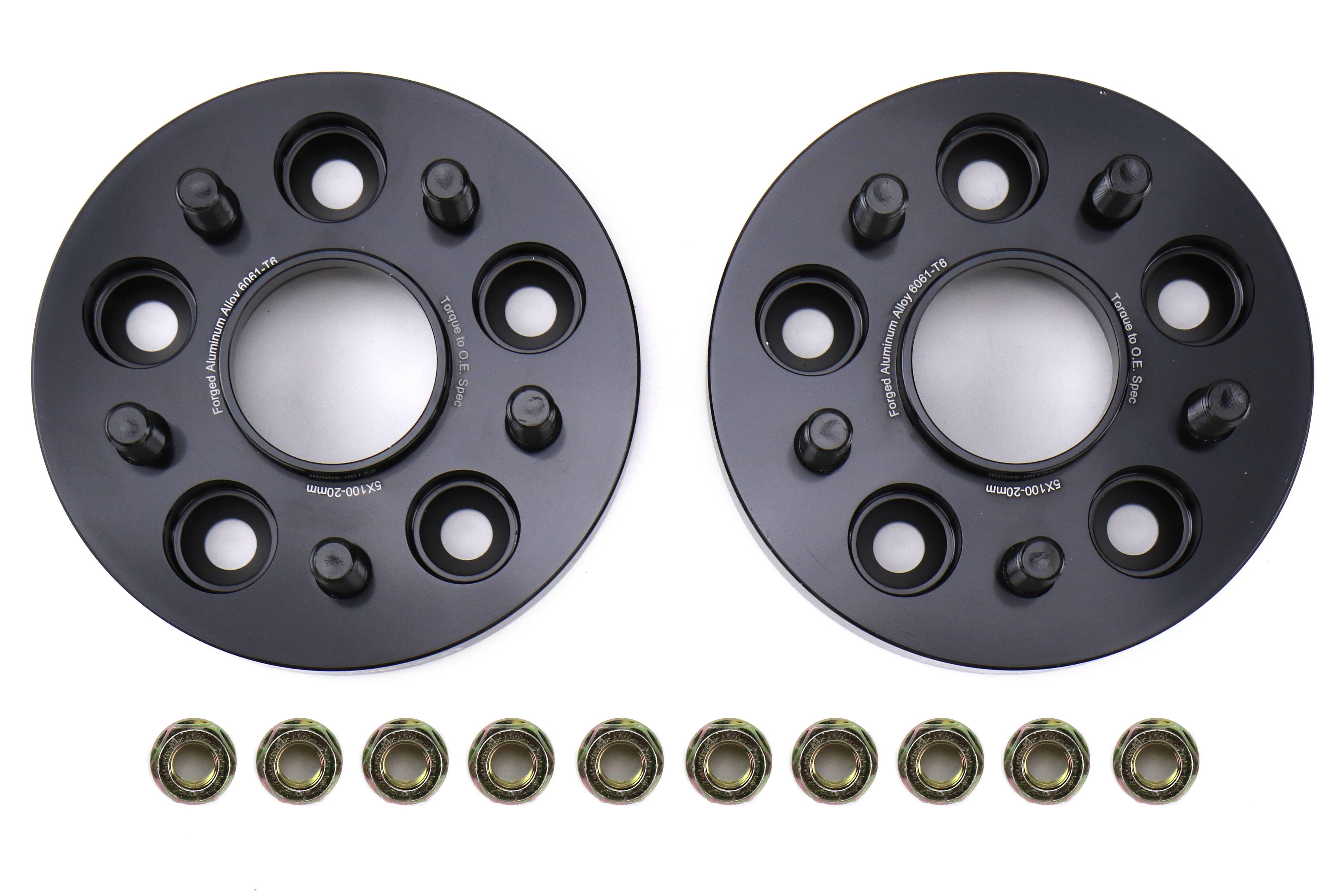 FactionFab Subaru 5X100 20mm Wheel Spacer Set