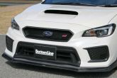 ChargeSpeed Carbon Fiber Grille with Emblem Mount - 2018+ WRX / 2018+ STI