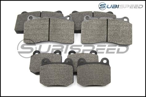Carbotech AX6 Brake Pads - 2018+ STI