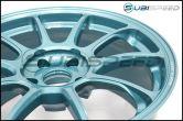 Volk ZE40 Hyper Green 18x9.5 +38 Face 2 - 2015+ WRX / 2015+ STI
