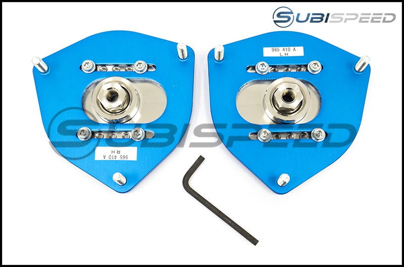 Cusco Front Adjustable Pillow Ball Upper Mount Camber Plates