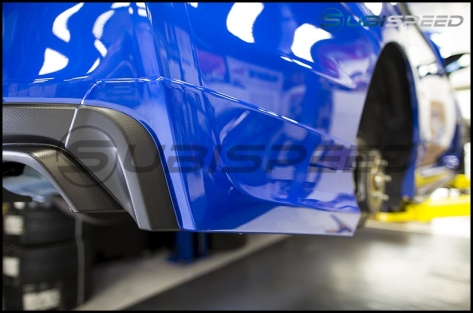 Subaru JDM Aero Splash Guards (rear)