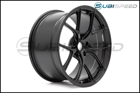 Titan 7 T-S5 Machine Black 18x9.5 +40 - 2015+ WRX / 2015+ STI