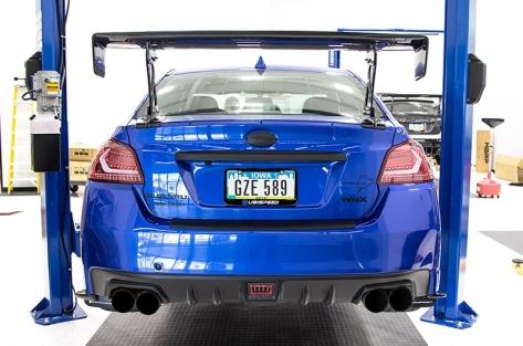 OLM V2 Carbon Look Rear Bumper Protector
