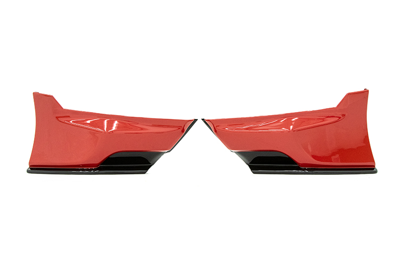 OLM Paint Matched/Gloss Black Rear Bumper Lip