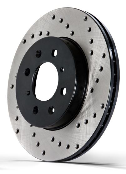 StopTech Cross-Drilled Sport Rotors (Rear)
