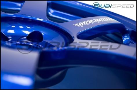 Volk TE37 SAGA Hyper Blue 18x10 +41 - 2015+ WRX / 2015+ STI