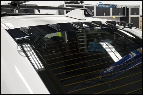 Maxton Design Rear Window Vortex Generator  - 2015+ WRX / 2015+ STI