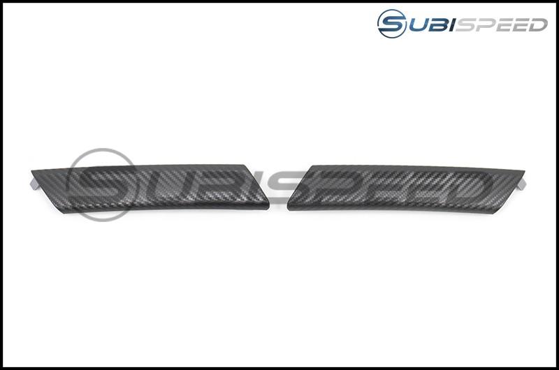 Subaru OEM JDM 3D Carbon Fiber Door Handles