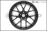 Apex Race Parts EC-7 Satin Black 18x9.5 +38mm - 2015+ WRX / 2015+ STI