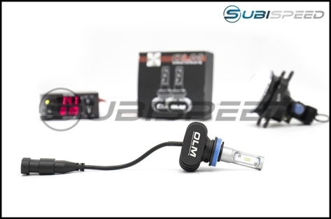 WRX Base/Premium Headlight + Fog LED Pack - 2015+ WRX