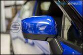 Sticker Fab 3D Carbon Fiber Mirror Overlays (Lower) - 2015-2020 WRX & STI / 2015-2017 Crosstrek / 2015-2016 Impreza