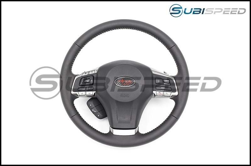 Sticker Fab 3D Carbon Steering Wheel Emblem Overlay
