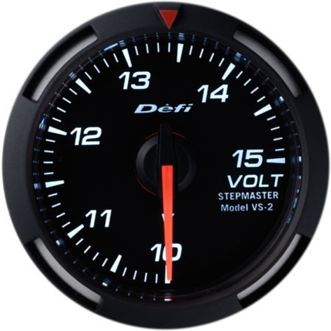 Defi 52mm Racer Series Gauges (Voltage)