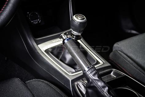 Carbon Fiber E-Brake Replacement Handle (Black) - 2015+ WRX / 2015+ STI / 2013+ FR-S / BRZ / 86 / 14-18 Forester / 13-17 Crosstrek