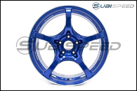 Rays G50 Hyper Blue (Face 2) 18x9.5 +38 - 2015+ WRX / 2015+ STI