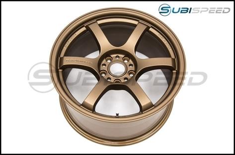 Gram Lights 57DR Bronze 18x9.5 +38 Wheels - 2015+ WRX / STI