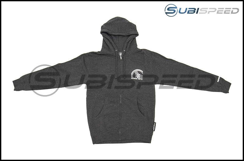 Advan Racing 2017 Zip Up Hoodie Grey