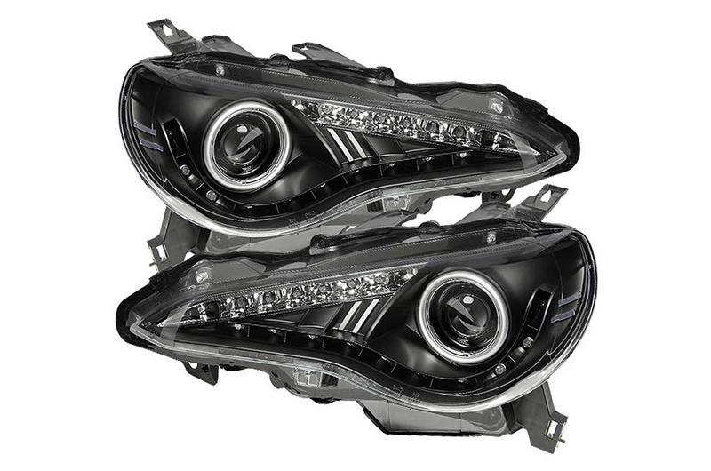 Spyder Xenon Model Projector Headlights