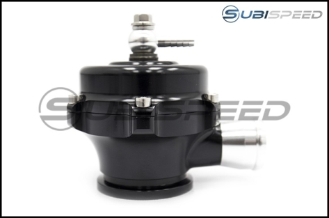 Tial QR Recirculating Blow Off Valve 10psi Spring Black 1.34in Outlet - Universal