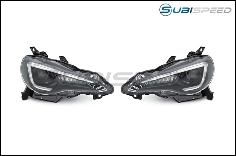 OLM Sequential Style Headlights w/ 6000k HID - 2013+ FR-S / BRZ / 86