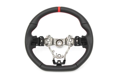 FactionFab Leather Steering Wheel  - 2015+ WRX / 2015+ STI