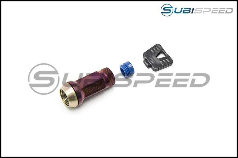 Muteki End Cap Set for SR45R Open Ended Lug Nuts