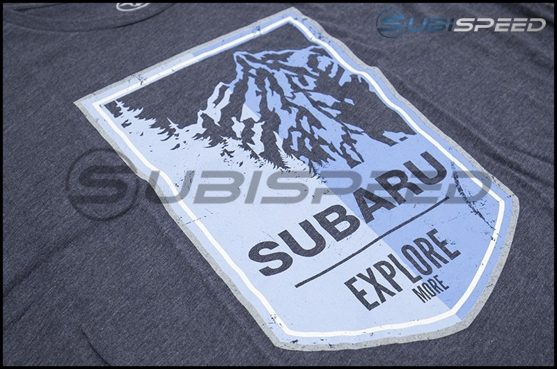 Subaru Long Sleeve Mountain Tee