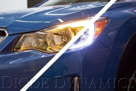 Diode Dynamics Subaru Crosstrek C-Light Switchback LED Halos - 2013+ Crosstrek
