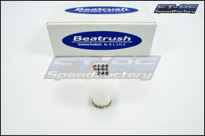 Beatrush Duracon Shift Knob (White) -2013+ FT86