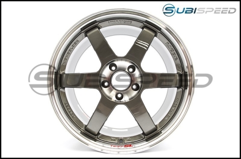 Volk TE37 SL Super Lap Pressed Graphite 18x9.5 +35 - 2015+ WRX / 2015+ STI