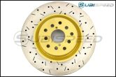 DBA Front 4000 Series Cross Drilled and Slotted Rotors (Front) - 2015+ WRX / 2014+ Forester