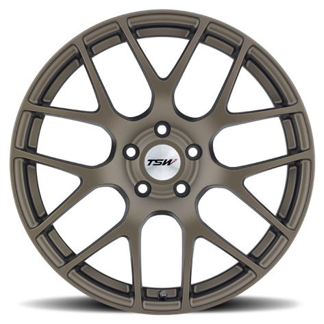 TSW Nurburgring Wheels 18x8 +45mm (Matte Bronze) - 2013+ FR-S / BRZ / 86 / 2014+ Forester