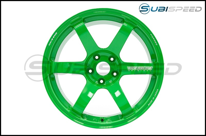 Volk TE37 SAGA Takata Green 18x10 +35mm