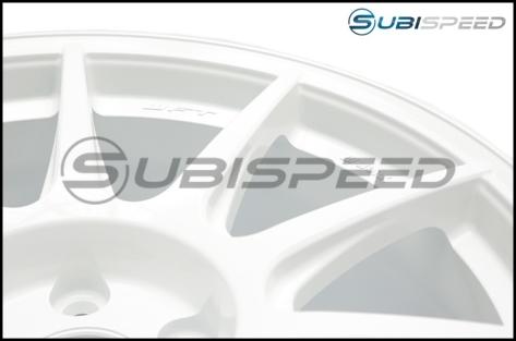 Work M.C.O Racing Type CS 18x9.5 +42mm White - 2015+ WRX / 2015+ STI