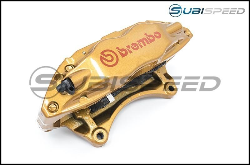 Brembo Front 4 Piston Slotted or Drilled Brake Kit