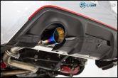 FT-86 SpeedFactory Dual Muffler Delete Axle Back Exhaust - 2013-2016 FR-S / BRZ / 86