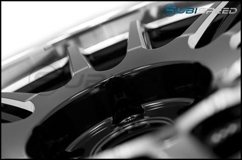 Cosmis Racing XT-206R 18x9 +33mm Black w/ Machined Lip - 2015+ WRX / 2015+ STI