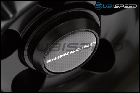 949 Racing 6UL 17x8 +40 Black - 2013+ FR-S / BRZ / 86 / 2014+ Forester