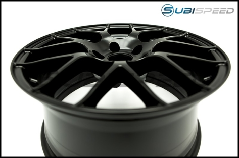 Enkei Raijin Black Wheels 18x8.5 +35mm - 2015+ WRX / 2015+ STI