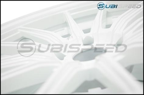 Cosmis Racing R1 18x9.5 +35mm White - 2015+ WRX / 2015+ STI