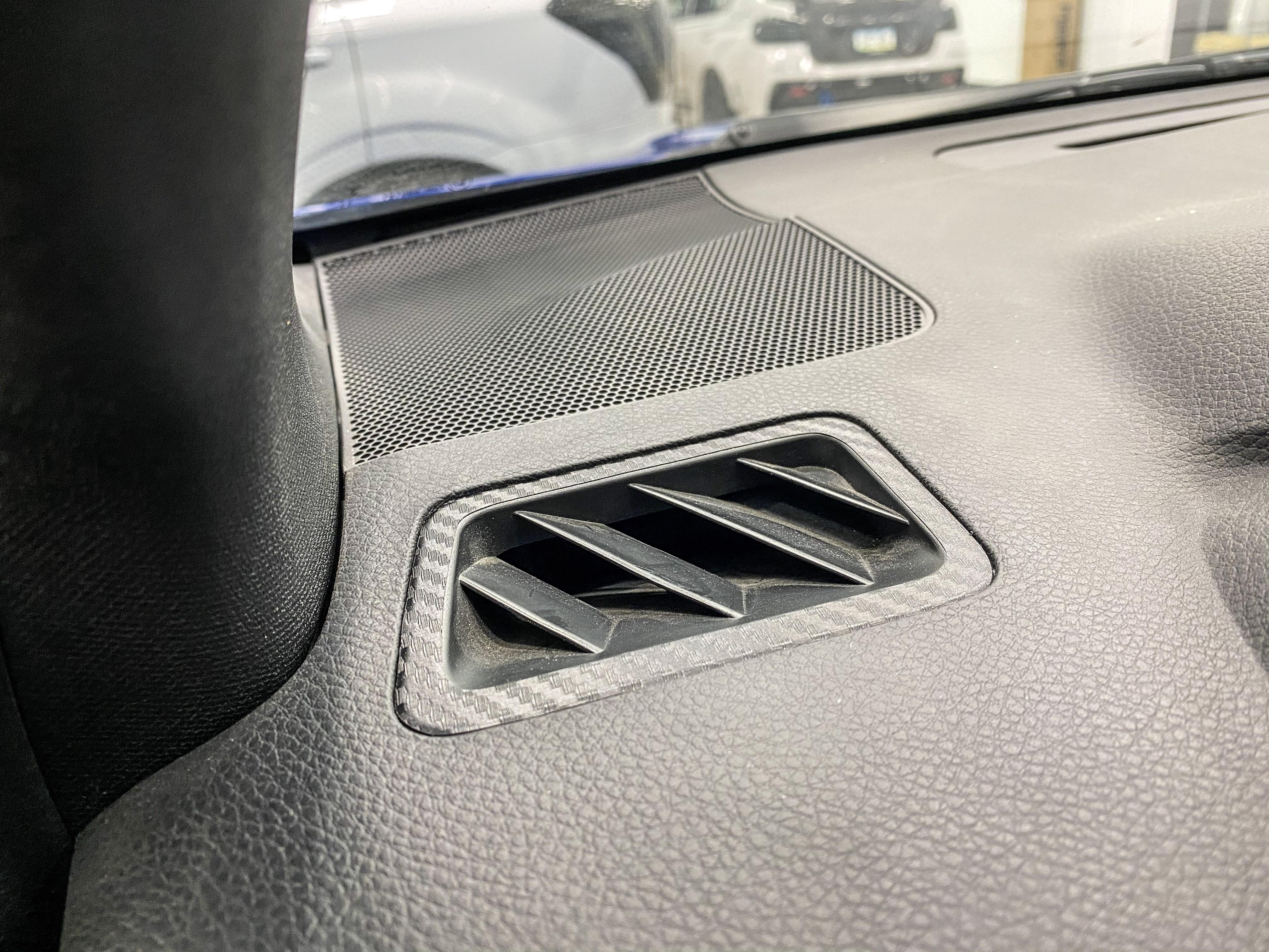 Sticker Fab 3D Carbon Defroster Vent Overlays