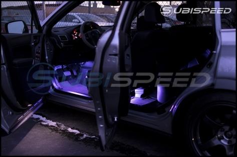 GCS RGB Interior Footwell Lighting Kit (Front & Rear W/ Bluetooth) - Universal