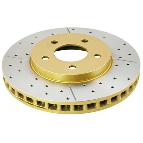 DBA 4000 Series Cross Drilled and Slotted Rotors (Rear)