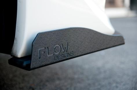 Flow Designs Front Splitter Option A Winglets