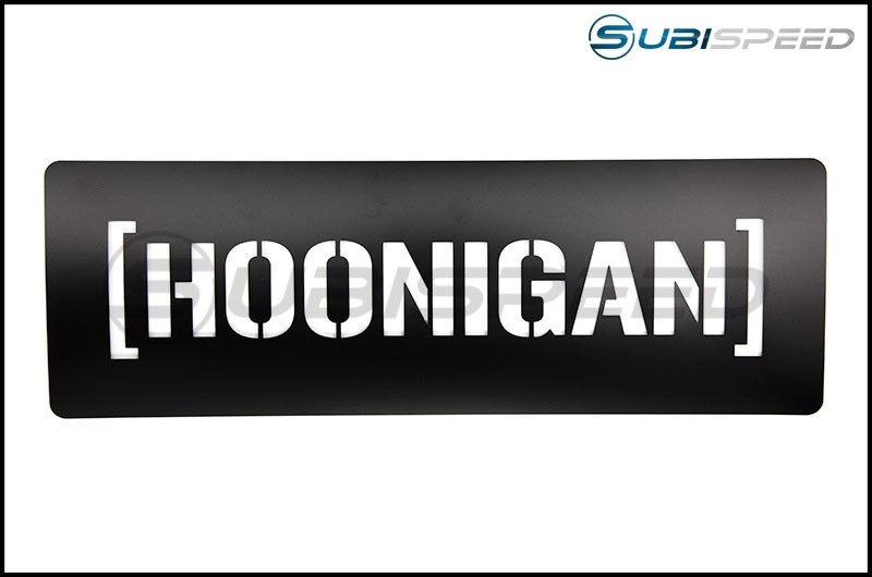 HOONIGAN Large Reusable Black Stencil